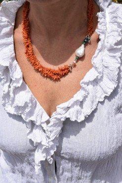 Collana classica pietre semi preziose