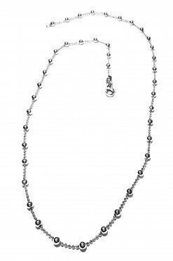 Catena rosario argento 45 cm