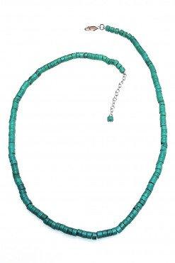 Girocollo cilindri turchese Verde