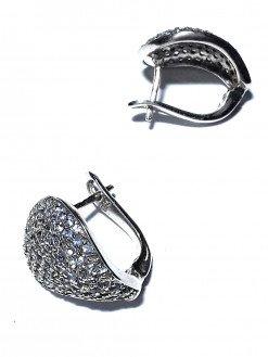 Orecchini goccia argento Tanzanite