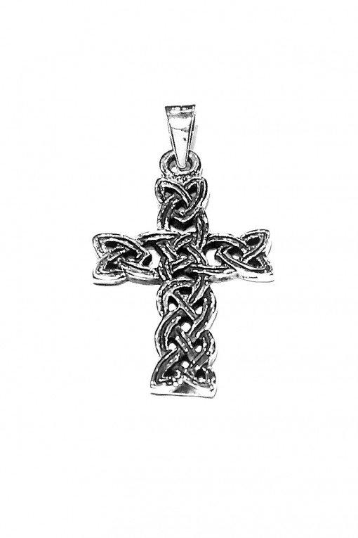 Ciondolo Uomo Croce argento